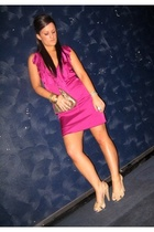 pink cooper st clothing dress - beige Sachi shoes