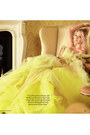 Yellow-tulle-dress