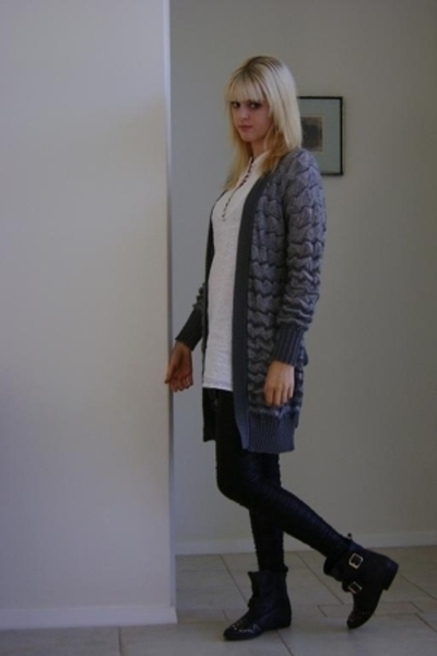 m missoni sweater - Sportsgirl dress - Sportsgirl leggings - Topshop shoes