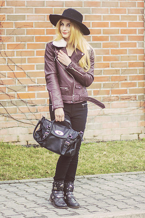 dark brown shein jacket