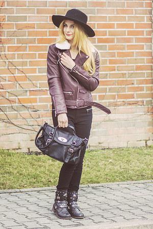 dark brown shein jacket