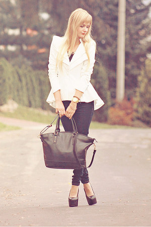 white lookbookstore blazer