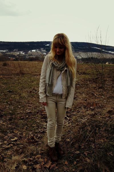 deezee boots - Bershka jacket - Stradivarius pants