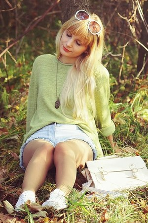 lime green no name sweater