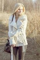 cream Sheinside jacket