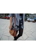Oasis skirt - Depot 96 blazer - New Yorker bag