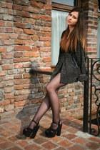 vintage cardigan - Mojito heels