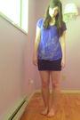 Blue-forever-21-shirt-black-lush-skirt