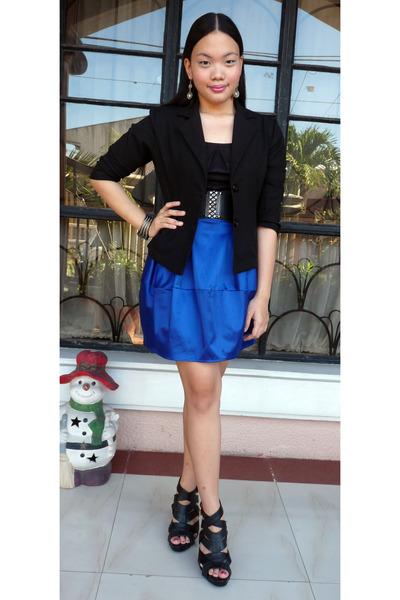 Pill shoes - Santia blazer - Folded & Hung belt
