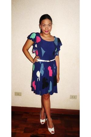 Topshop dress - Bata of Singapore shoes