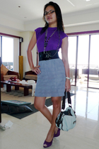 skirt - blouse - shoes