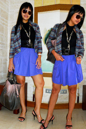 Esprit skirt - Topshop jacket