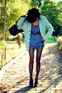 Heather-gray-crossroads-trading-cardigan-blue-forever21-dress-green-abercomb