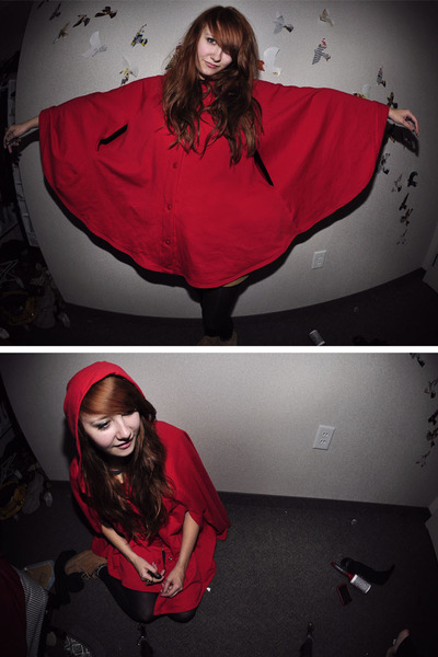red American Apparel jacket