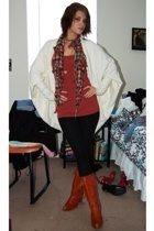 Norma Kamali for Walmart jacket - top - Xhileration pants - boots - HenriGirl sc