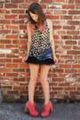 Boots-skirt-top