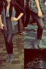 Black-black-stockings-heather-gray-suede-boots-heather-gray-mango-vest