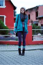 chartreuse H&M jacket