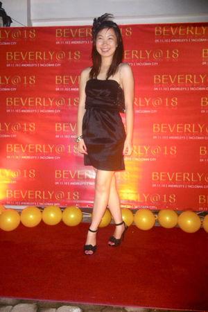 black Forever21 dress - black CMG bag - black Forever21 accessories - gold  brac