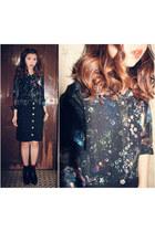 galaxy paint MISSRUAN shirt - it shoes - Tasty skirt