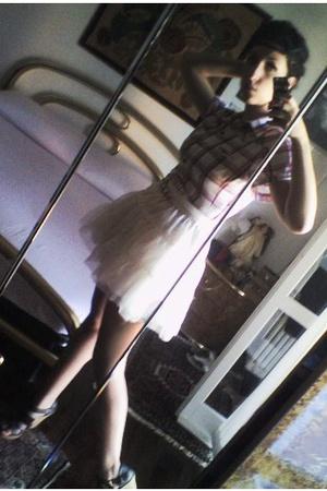 Melablu dress - H&M Young skirt - Zara belt - Zara