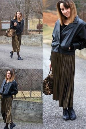 vintage jacket - Primark skirt