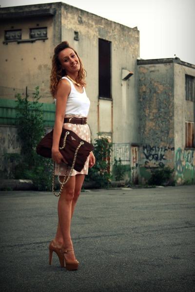 Topshop Heels, Prada Vintage Bags, Pimkie Tops, Fendi Vintage ...
