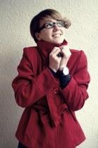 Topshop coat - Zara sweater - Esprit watch - c&a ring