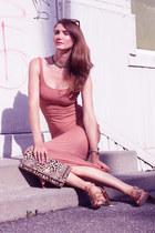 lustre dress - Nine West shoes