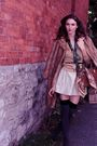 Gray-payless-shoes-socks-gray-lux-and-lustre-skirt-gold-vintage-cardigan-b