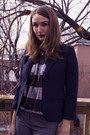 Sky-blue-fornarina-shoes-heather-gray-smart-set-pants-black-olive-oak-top-