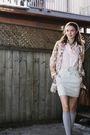 Beige-bcbg-shoes-gray-club-monaco-skirt-beige-rodarte-for-target-coat-pink