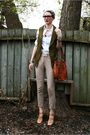 Green-vero-moda-vest-white-club-monaco-shirt-beige-zara-pants-beige-nine-w