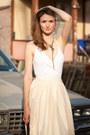 Vintage-skirt-nafnaf-blouse