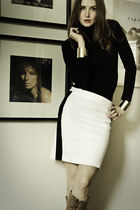 ivory Jacob skirt