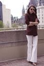 White-club-monaco-jeans-crimson-jean-paul-gaultier-blazer