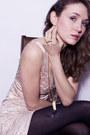 Black-zara-boots-cream-lustre-dress-black-sandra-angelozzi-jacket-gold-fra