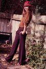 Beige-zara-shoes-brown-zara-top-purple-sandra-angelozzi-pants-orange-vinta