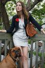 White-club-monaco-skirt-silver-rachel-roy-top-blue-pink-tartain-blazer-bro