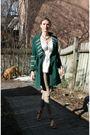 Green-cacharel-coat-white-biance-nygard-top-beige-zara-pants-beige-narcisc