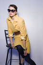Cream-prada-shoes-yellow-escada-coat-navy-raven-denim-jeans