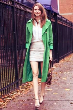 chartreuse vintage jacket