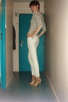 vintage sweater - Oysho jeans - San Marina shoes