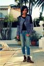 Blue-zara-jacket-brown-zara-boots-sky-blue-siwy-denim-jeans
