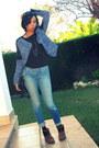 Brown-zara-boots-sky-blue-siwy-denim-jeans-blue-zara-jacket