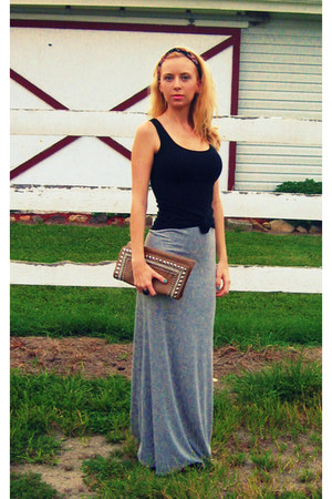 poof skirt - Forever 21 scarf - MMS Design Studio bag - Target top