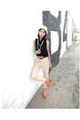 Beige-forever-21-hat-bronze-dolce-vita-wedges-black-vintage-blouse