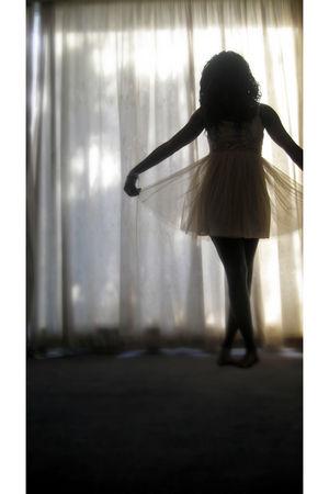 beige Dotti dress