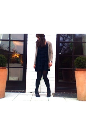 H&M dress - Zara coat - H&M shoes