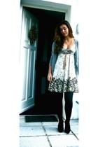 Zara coat - Zara skirt - shoes